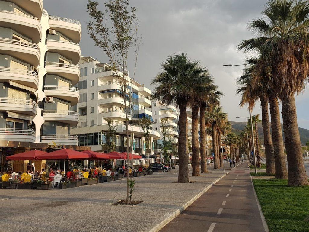 Appartamento in vendita sul lungomare di Vlora